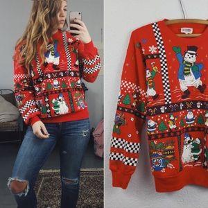 Vintage Crewneck Christmas Sweatshirt